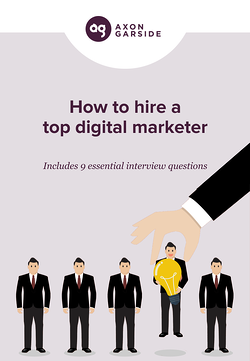 How to hire a top digital marketer cover
